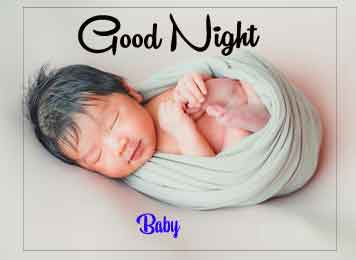 Best Quality good night cute baby Images 2