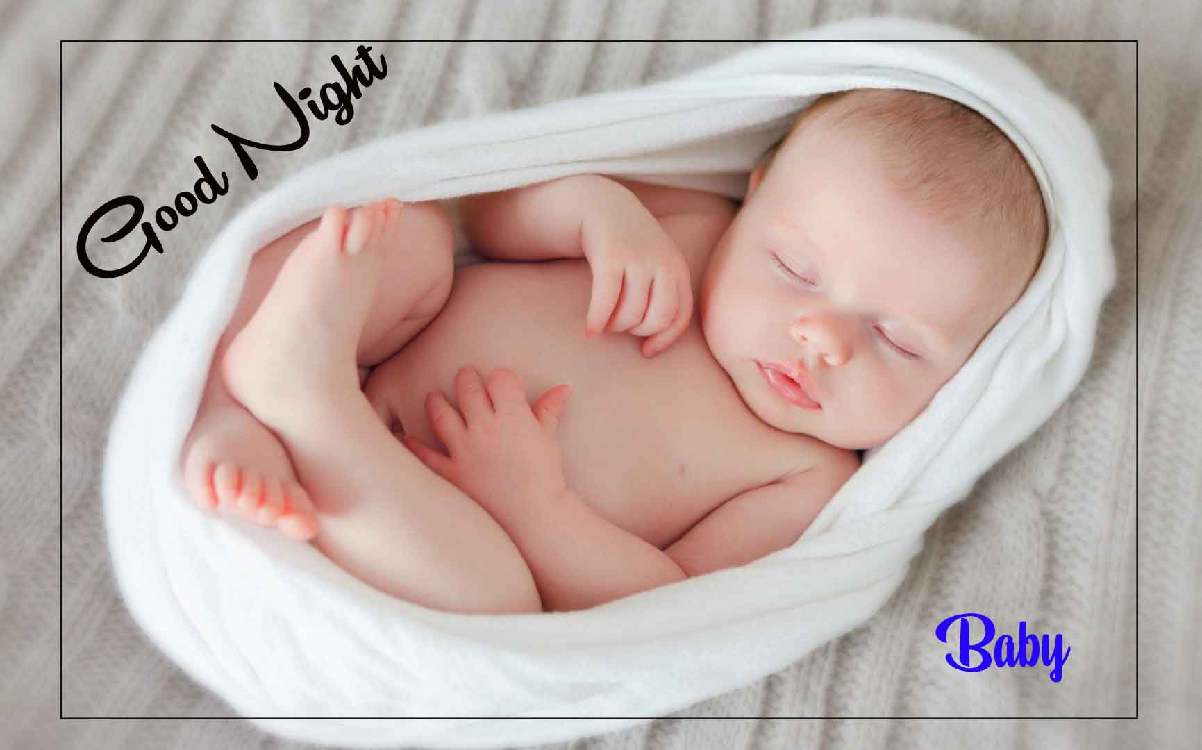 Best Quality good night cute baby Images