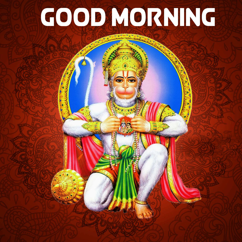 Best Quality hanuman ji Good Morning Images 4