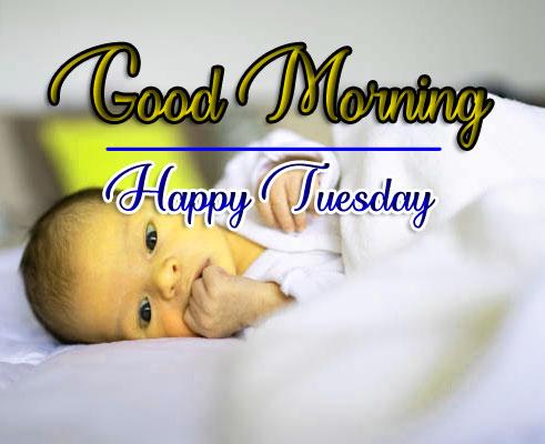 Cute Babay Boys Tuesday Good morning Images