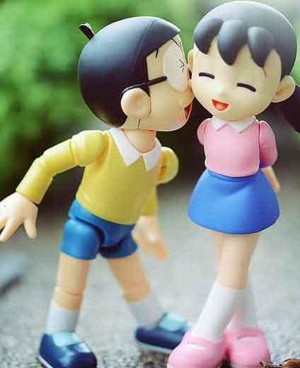 Cute Love cartoon whatsapp dp Image