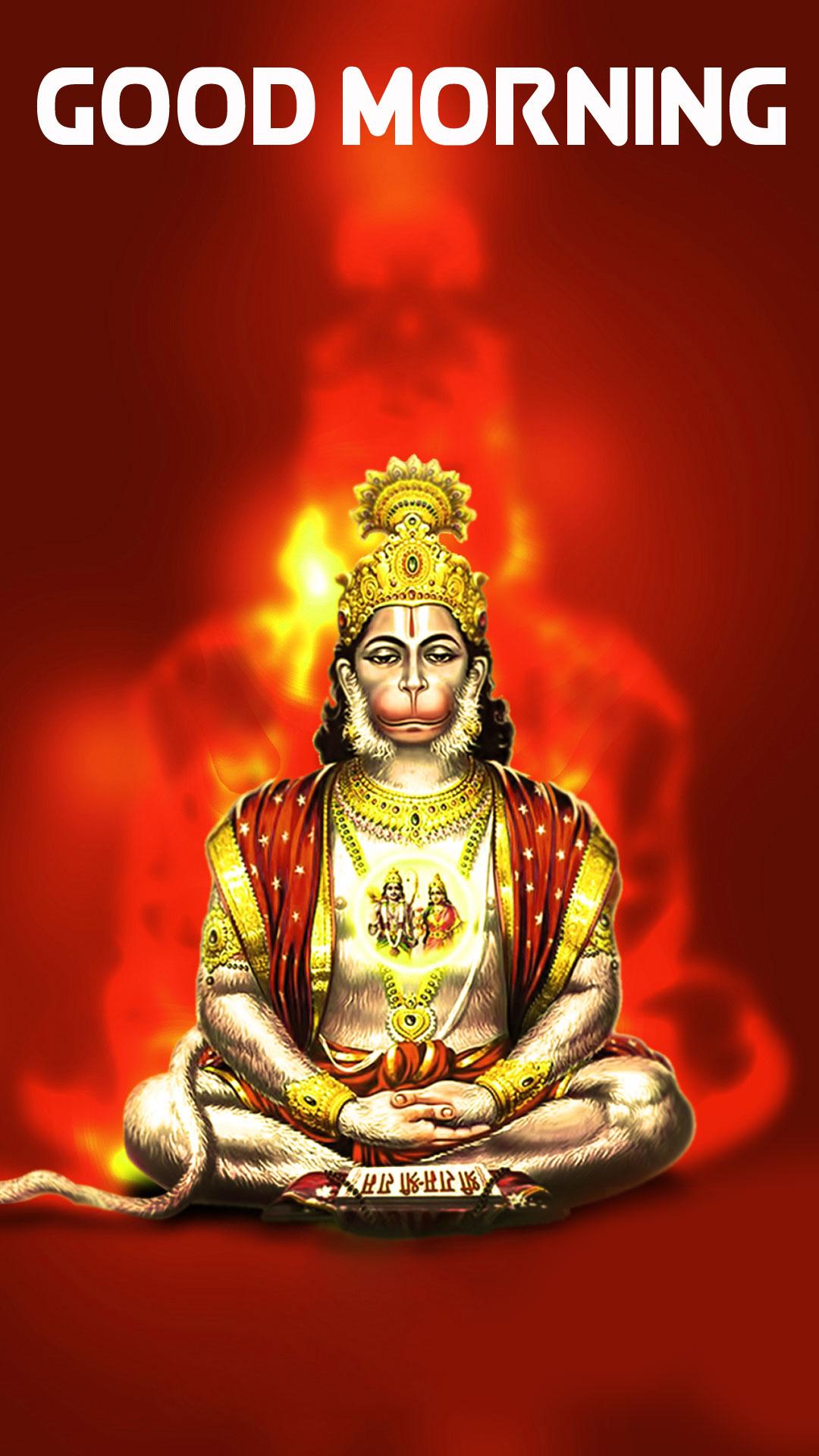 Free HD 2021 hanuman ji Good Morning Images