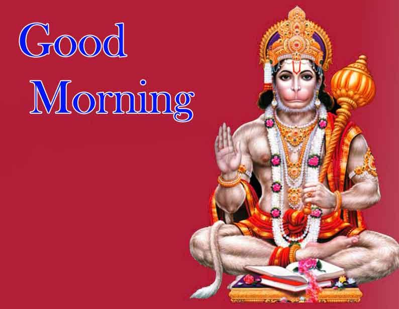Free HD Hanuma Ji Good Morning Images