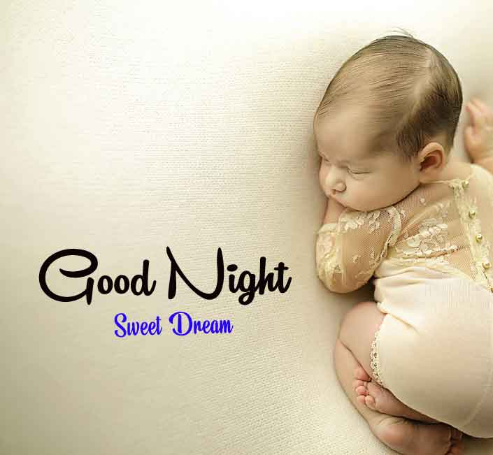 Free HD good night cute baby Images 2