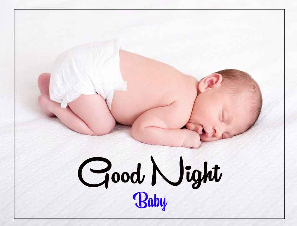 Free HD good night cute baby Images