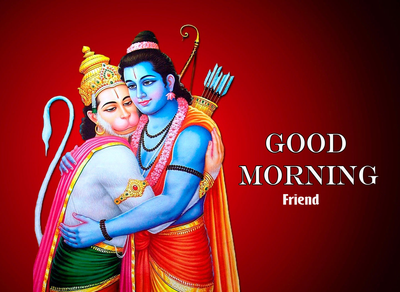 Free HD hanuman ji Good Morning Images 2