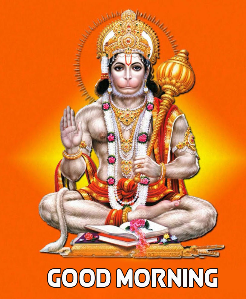 Free HD hanuman ji Good Morning Images 3