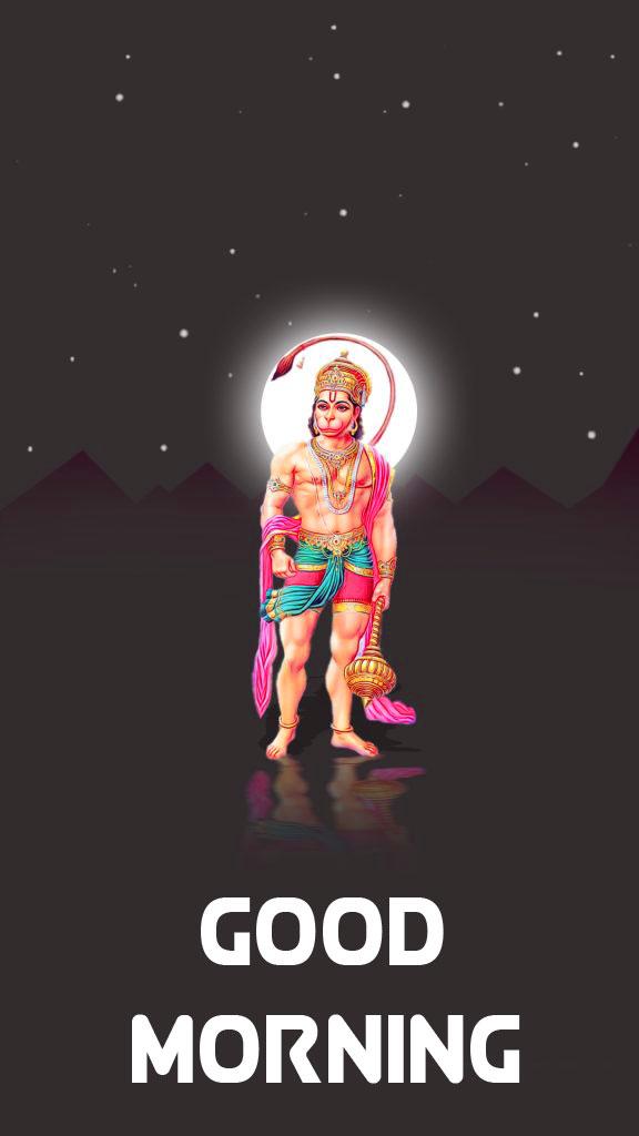 Free HD hanuman ji Good Morning Images 5