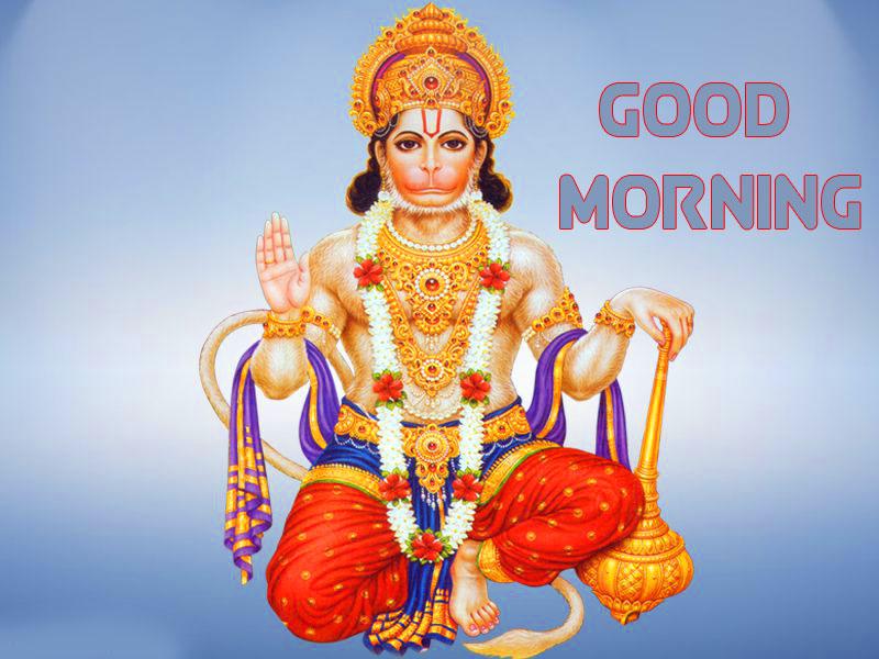 Free HD hanuman ji Good Morning Images Wallpaper