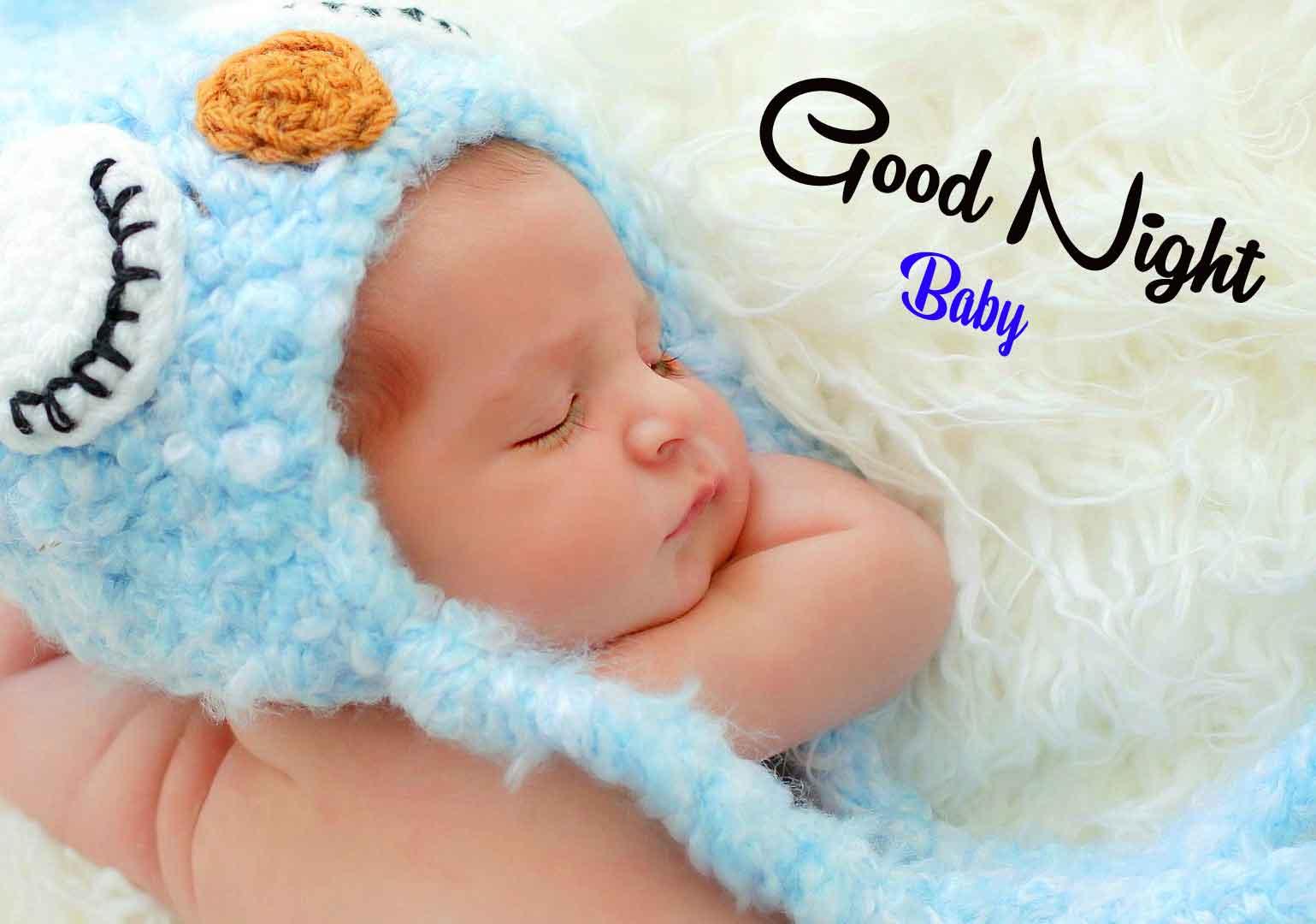 Fresh good night cute baby Images