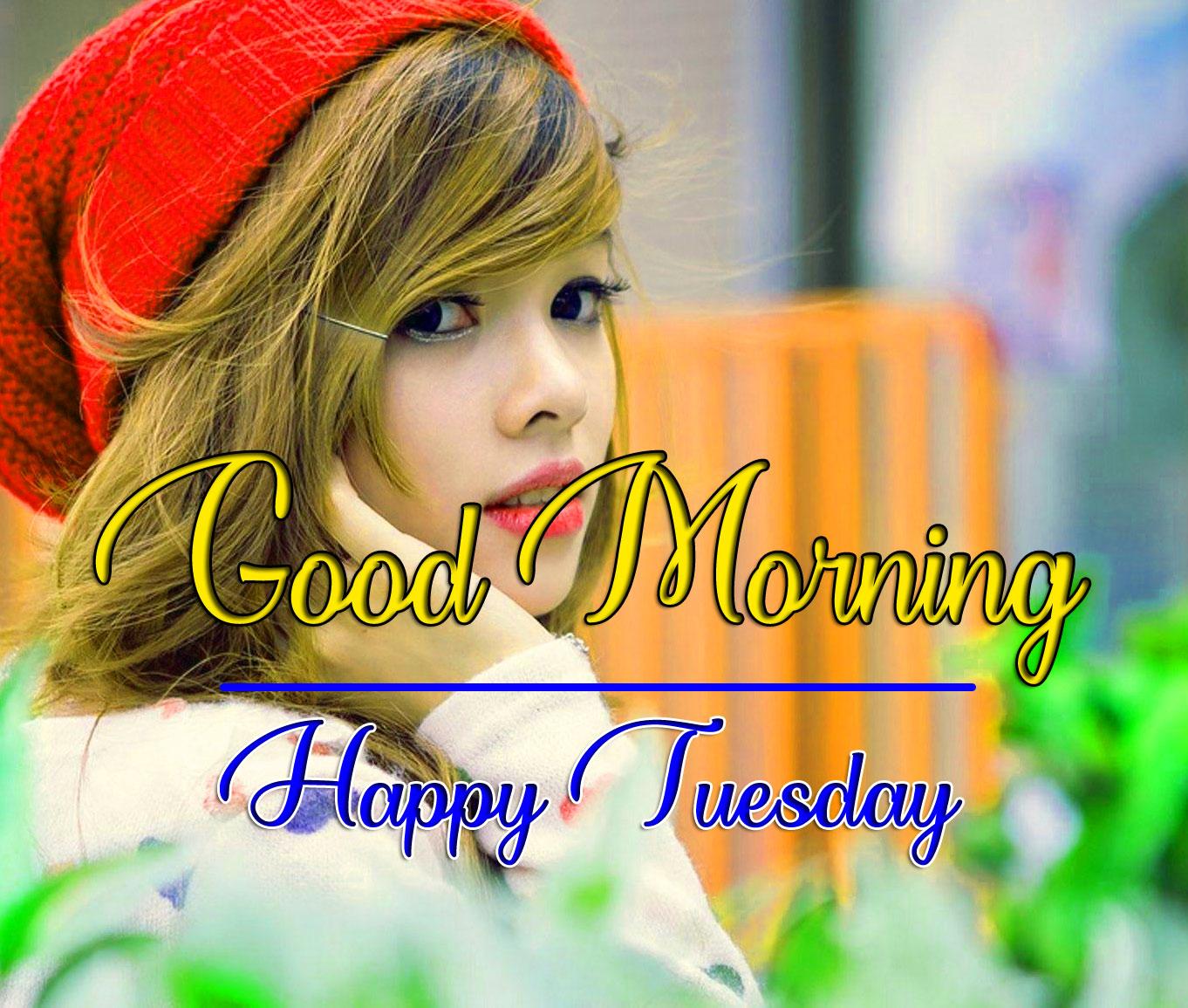 Girls Free Beautiful Tuesday Good morning Images