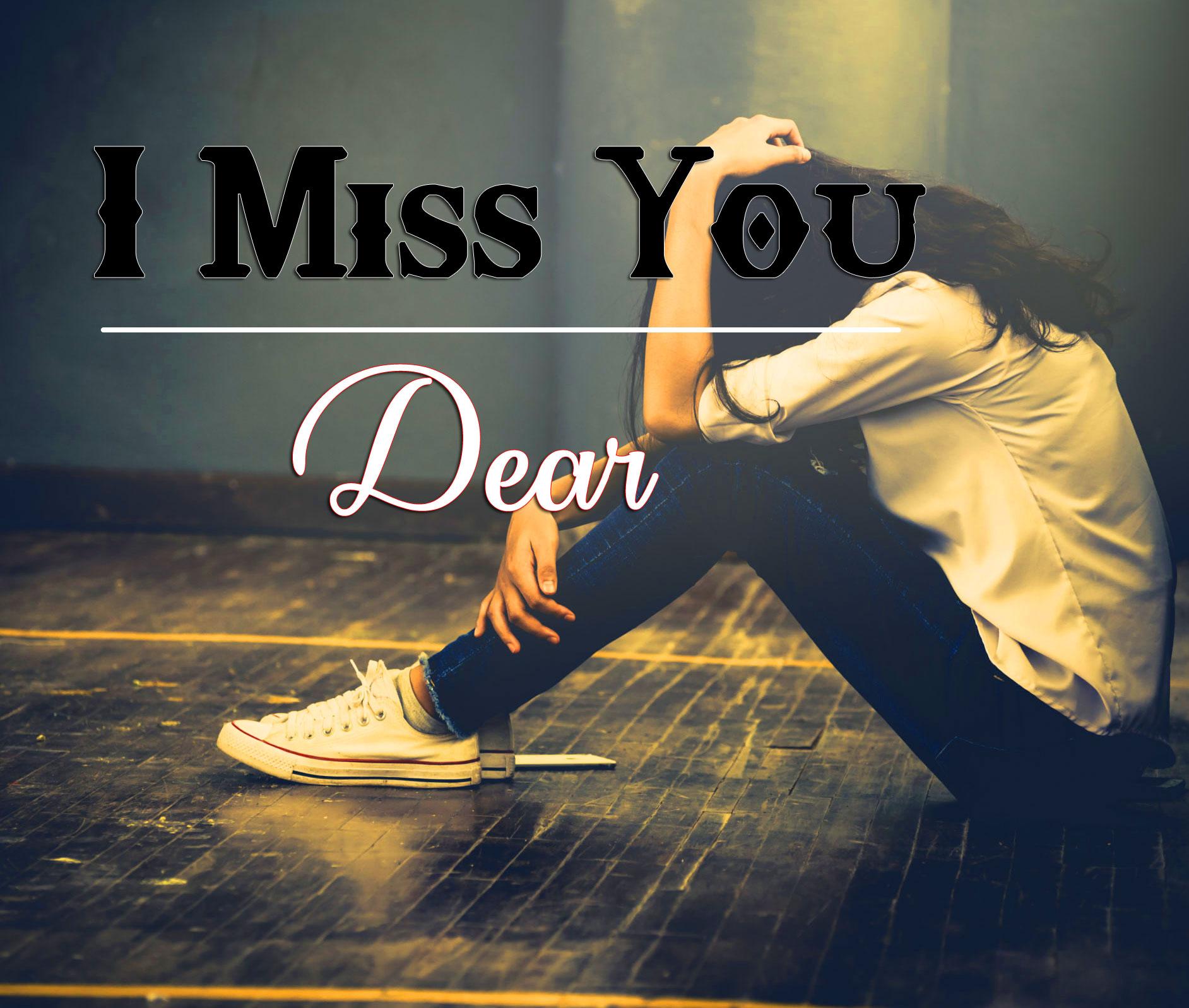 Girls Sad I miss you Images