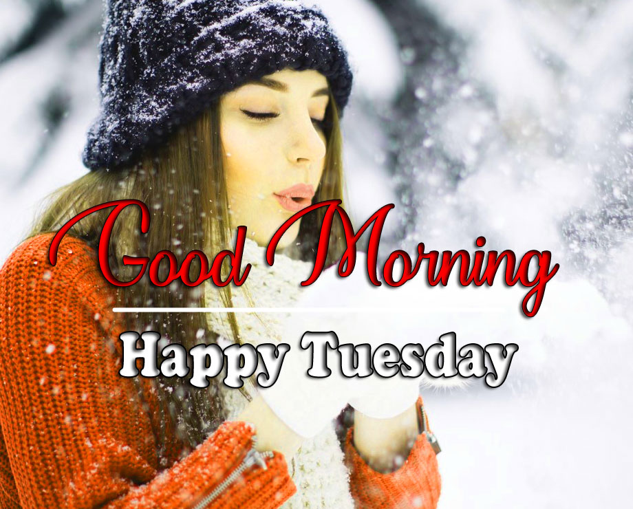 Girls Tuesday Good morning Wallpaper