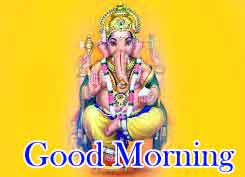 Good Morning Pics Pictures With Ganesha