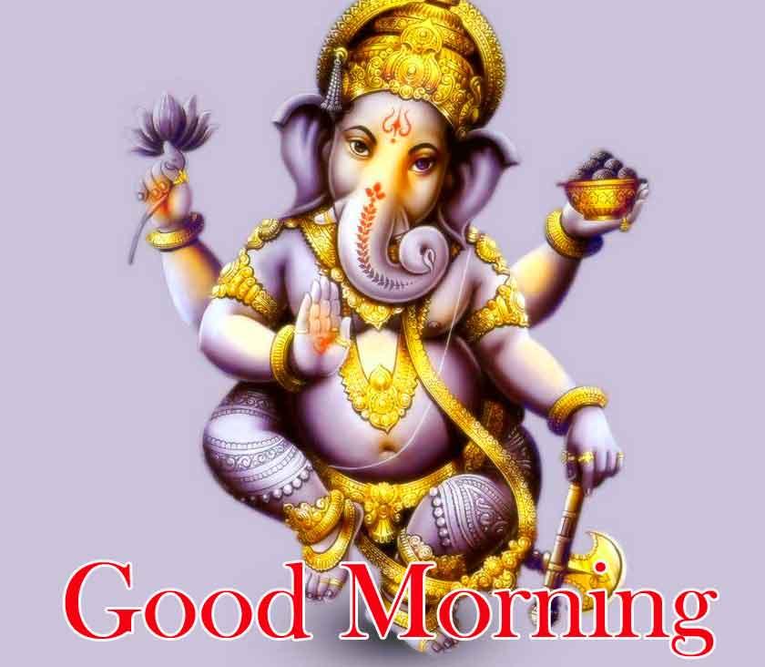 Good Morning Pics With Ganesha
