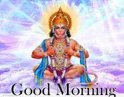 Good Morning Pics pictures With Hanuman ji