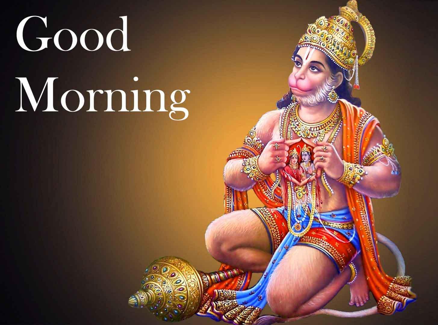 Good Morning Pictures With Hanuman Ji