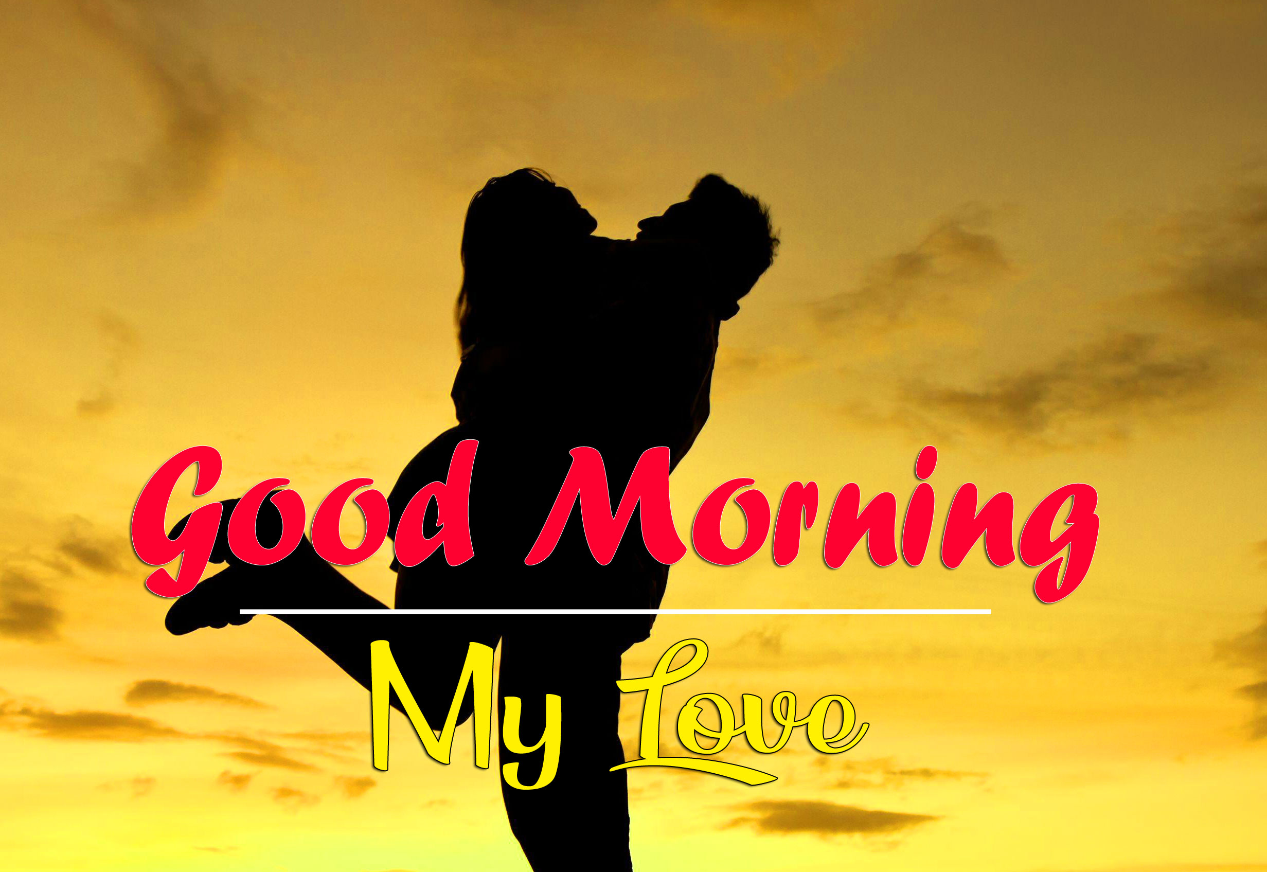 Good Morning Wishes Images For Romantic Couple