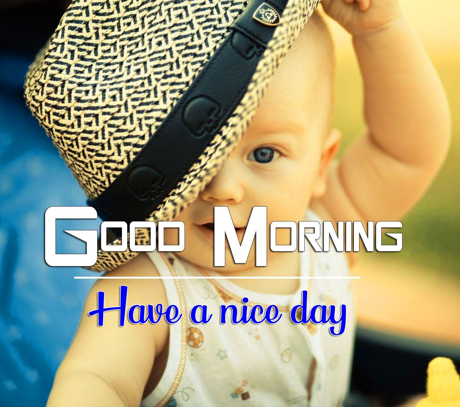 Good Morning Wishes Images Wallpaper With Cute Baby