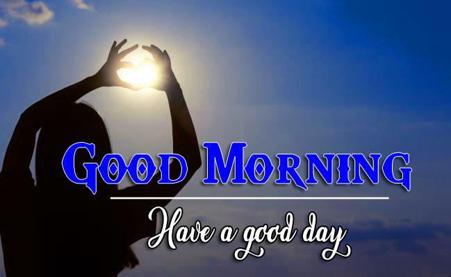Good Morning Wishes Images With Sunrise