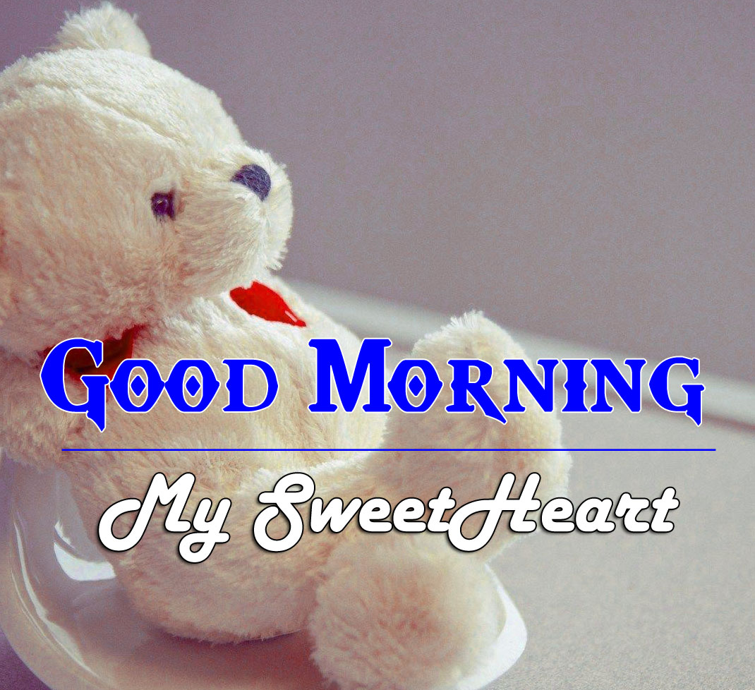 Good Morning Wishes Pics Images With Teady Bear