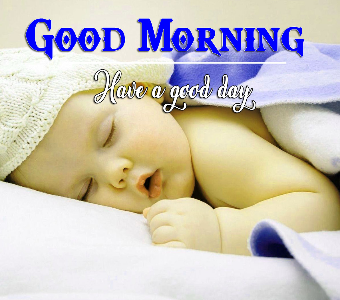 Good Morning Wishes Pics With Baby Biy