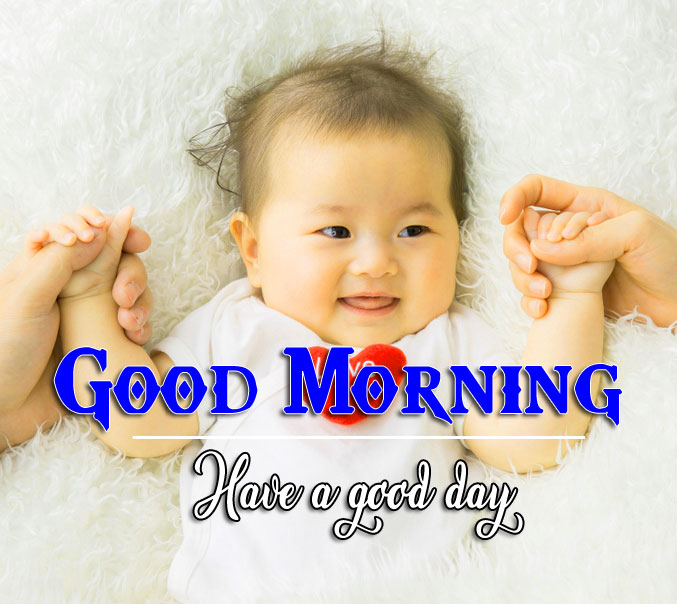 Good Morning Wishes Pics With Cute Baby