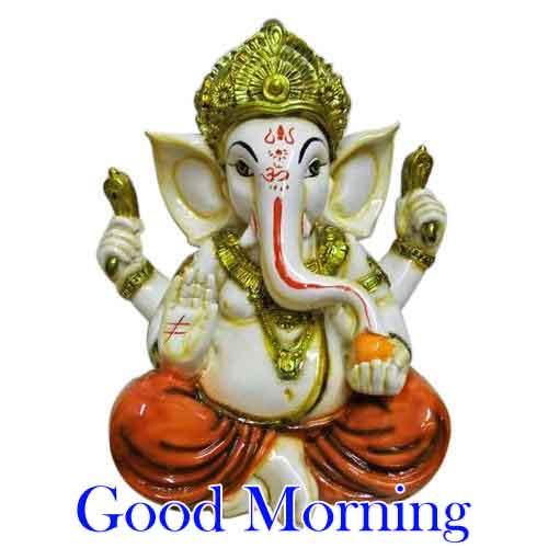 HD Ganesha Good Morning Images