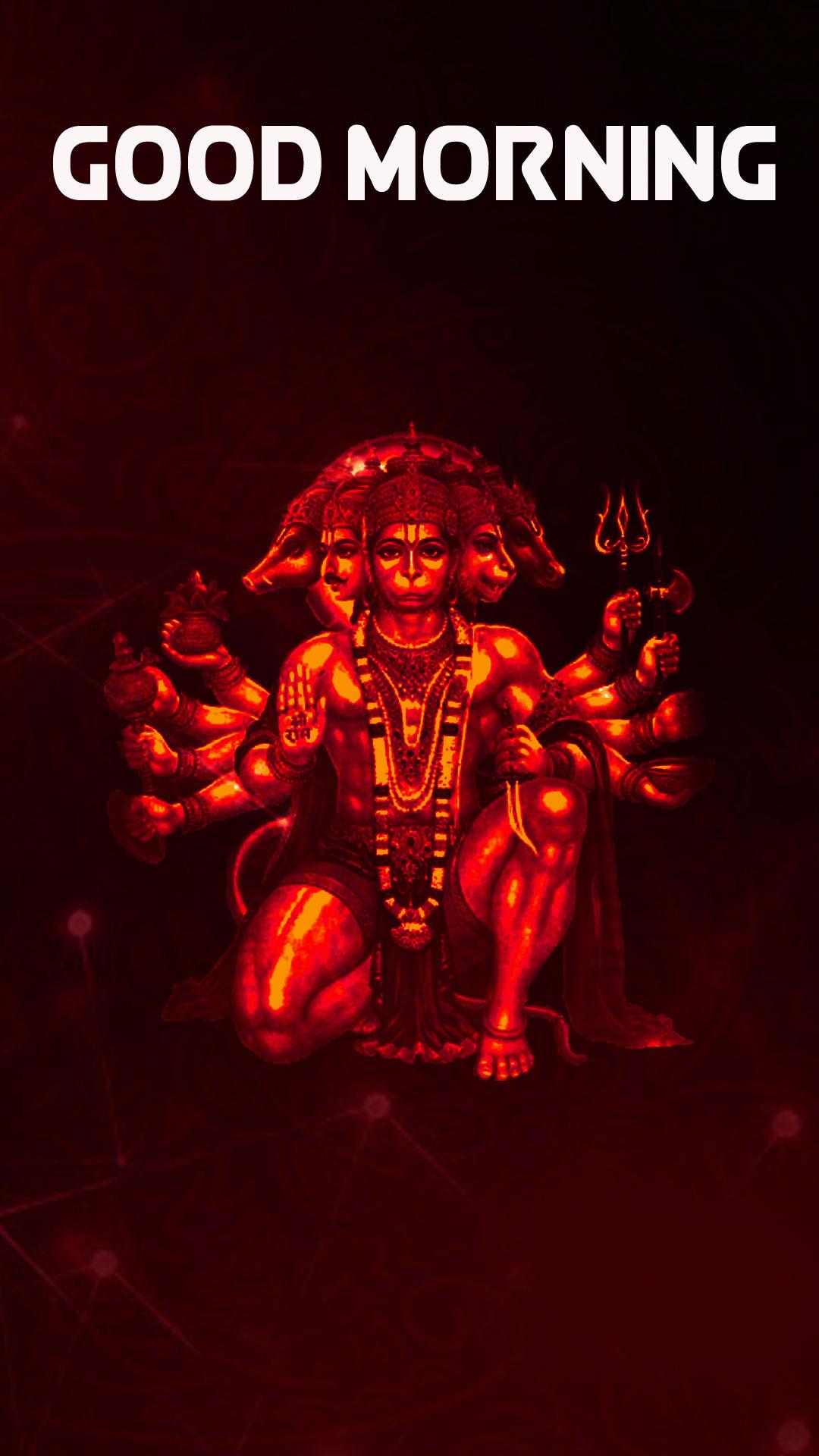 HD New hanuman ji Good Morning Images Download