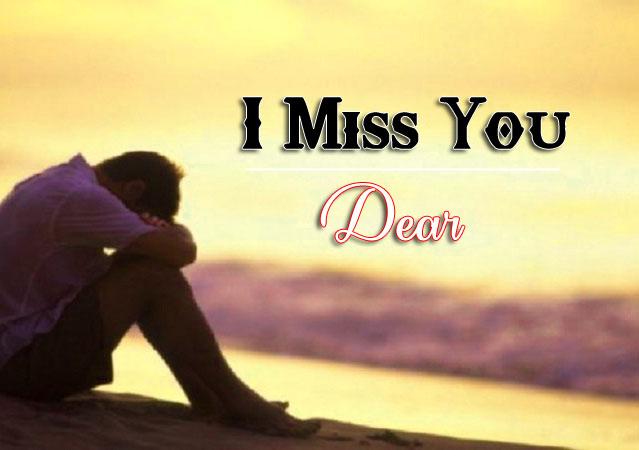 I Miss You Photo Free