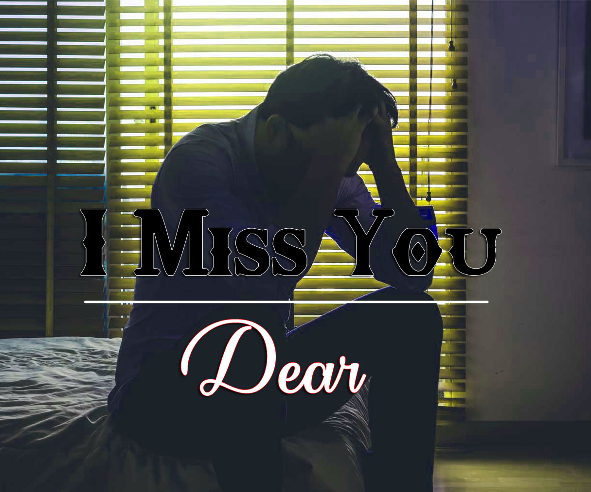 I miss you Images With Sad Boys