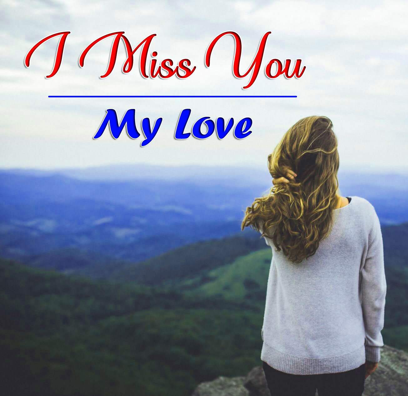 I miss you Pics Photo for Lover