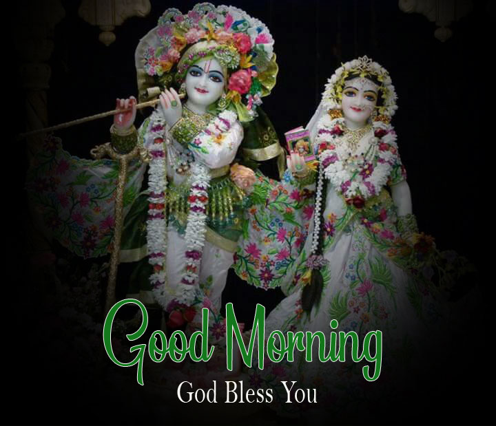 Latest Radha Krishna Good Morning Images photo for download 2
