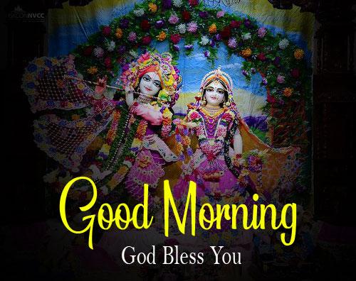 Latest Radha Krishna Good Morning Images pics download
