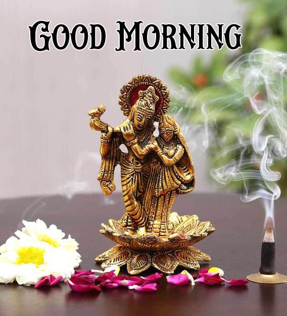 Latest Radha Krishna Good Morning Images pics for dp