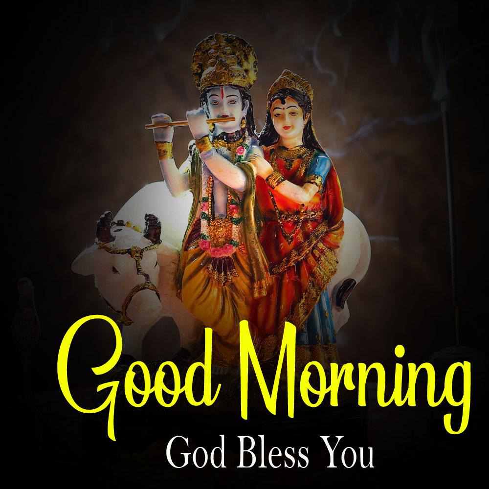 Latest Radha Krishna Good Morning Images pics