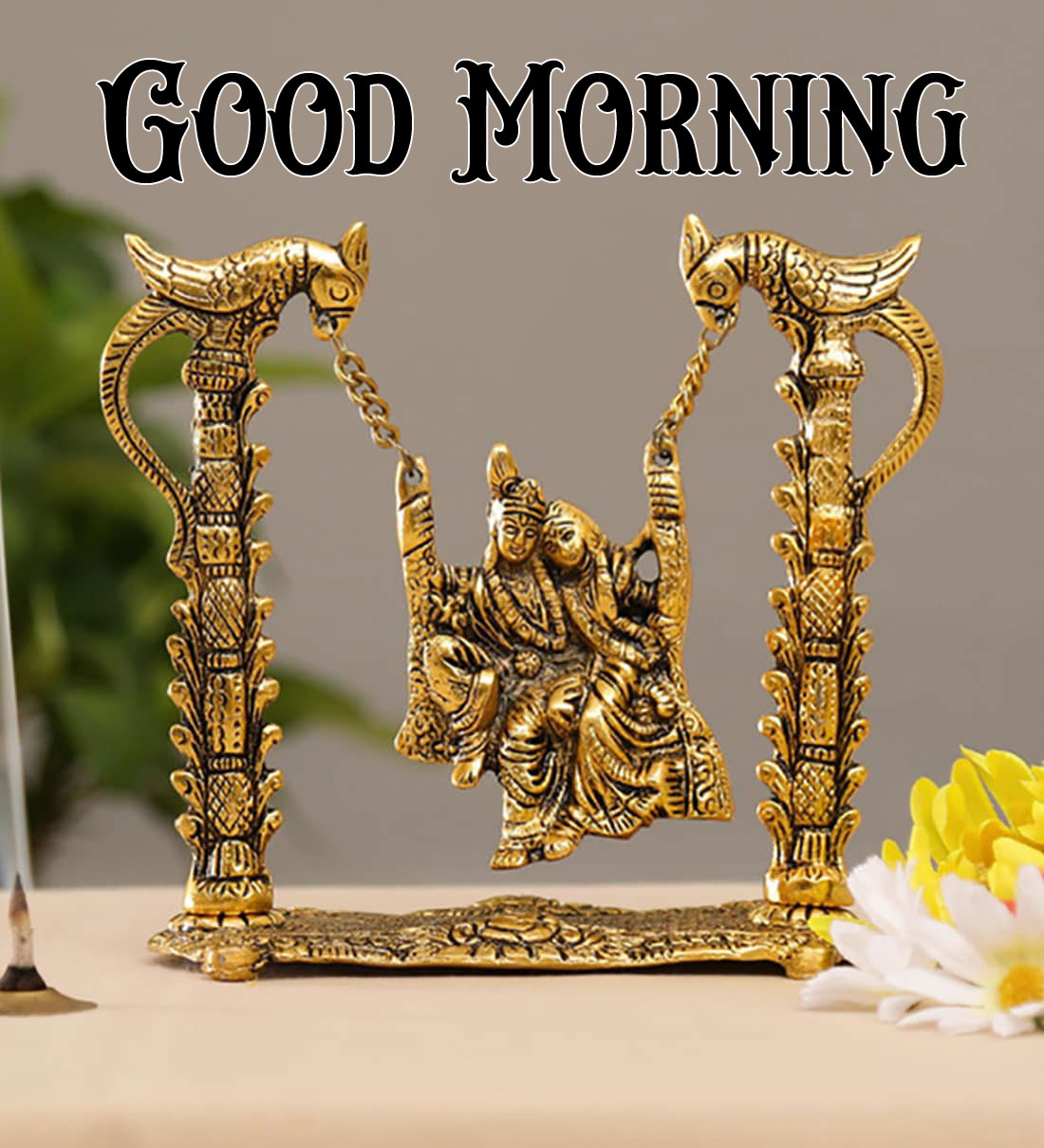 Latest Radha Krishna Good Morning Images pictures for status