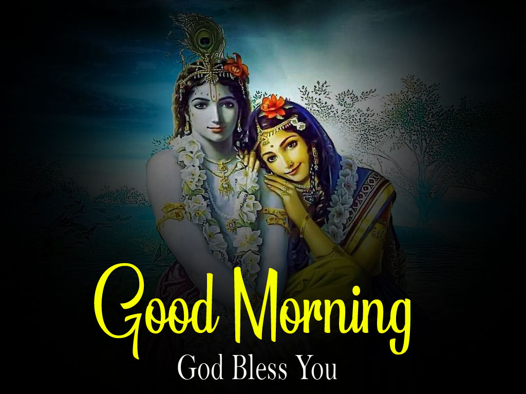 Latest Radha Krishna Good Morning Images pictures free download