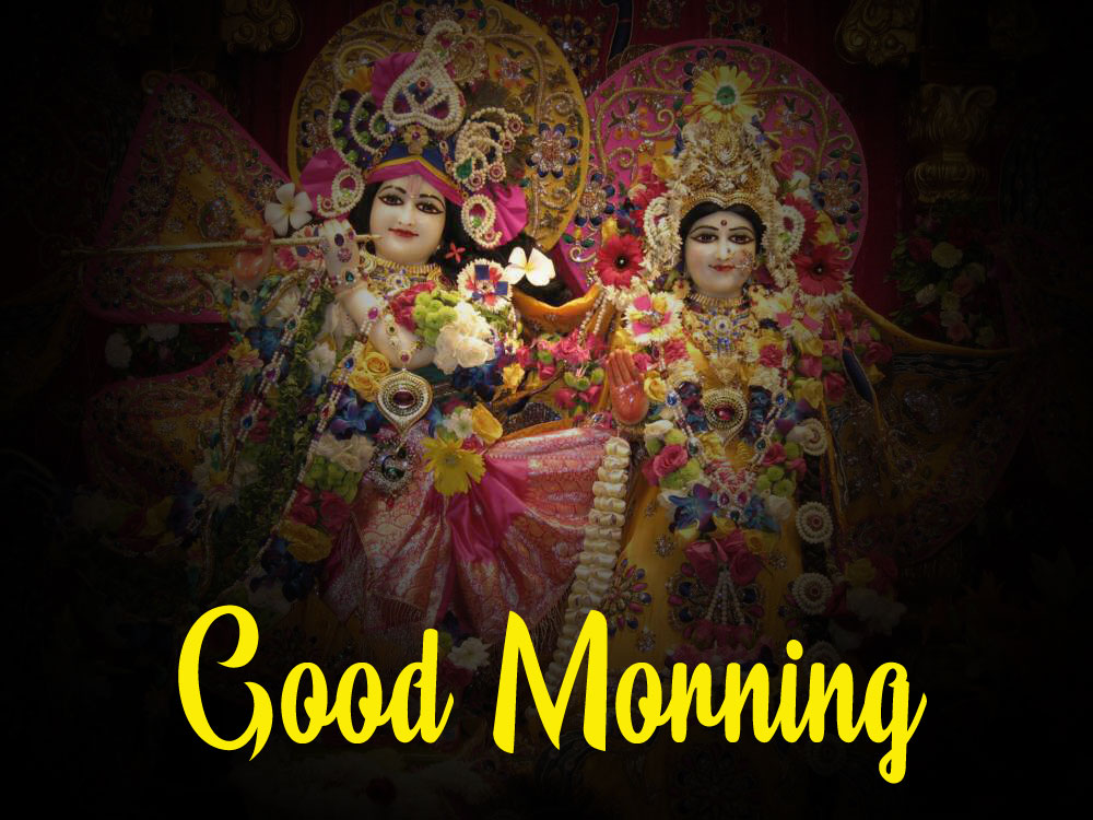 Latest Radha Krishna Good Morning Images pictures hd