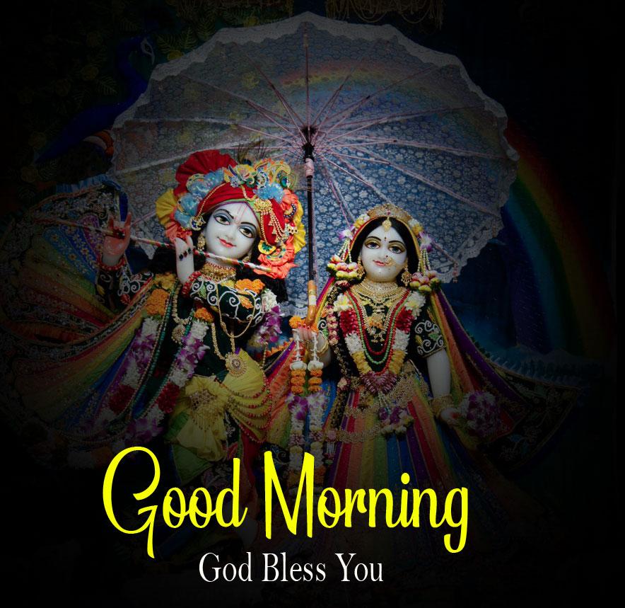 Latest Radha Krishna Good Morning Images wallpaper free hd 2