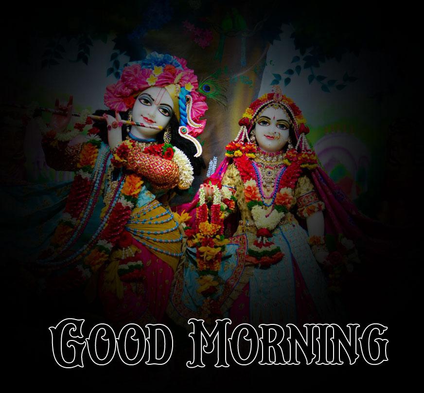 Latest Radha Krishna Good Morning Images wallpaper free hd