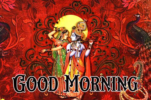Latest Radha Krishna Good Morning Images wallpaper hd download