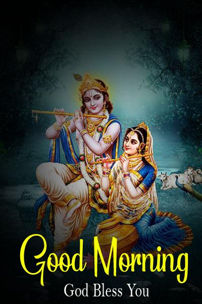 Latest Radha Krishna Good Morning Images