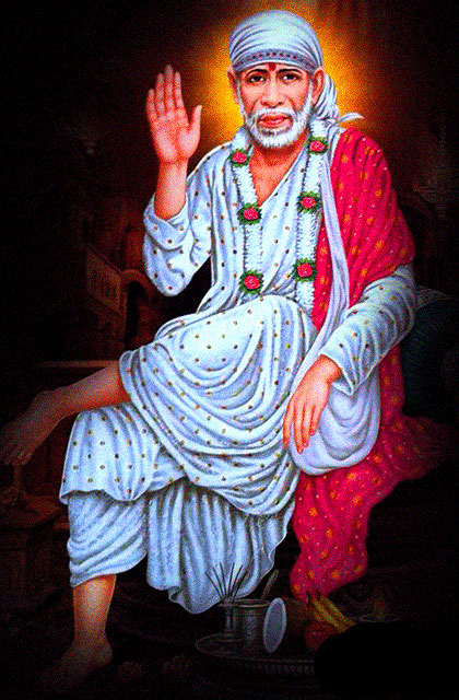 Latest Sai Baba Blessing Images hd