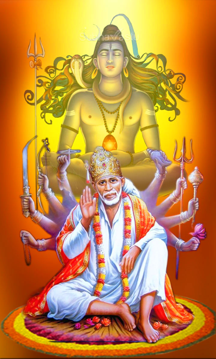 Latest Sai Baba Blessing Images photo for dp