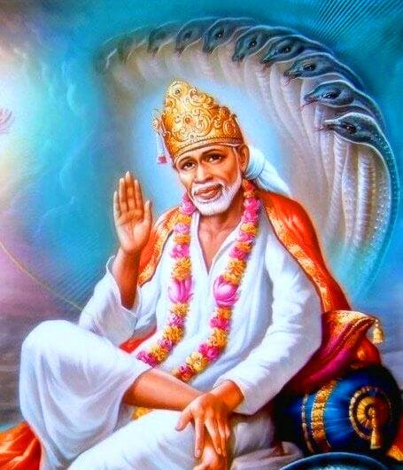 Latest Sai Baba Blessing Images photo