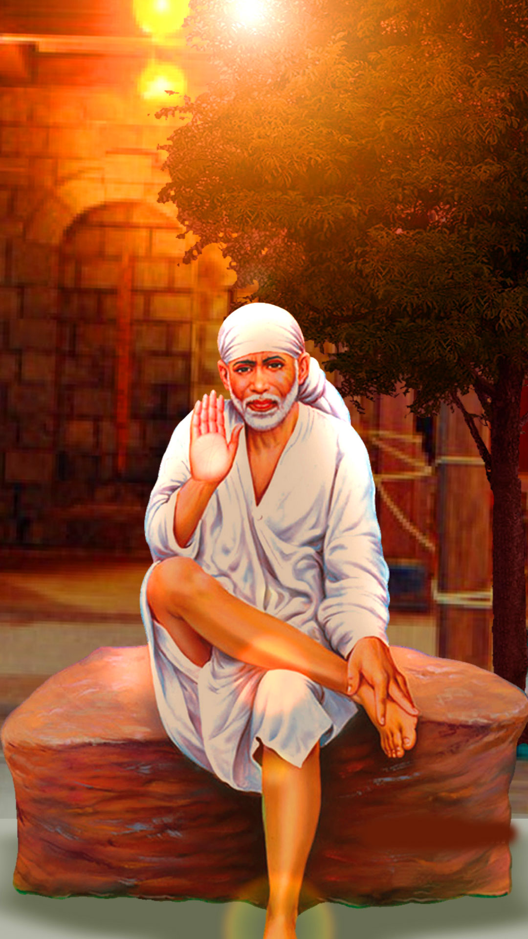 Latest Sai Baba Blessing Images pics