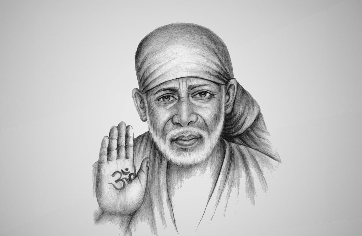 Latest Sai Baba Blessing Images wallpaper HD