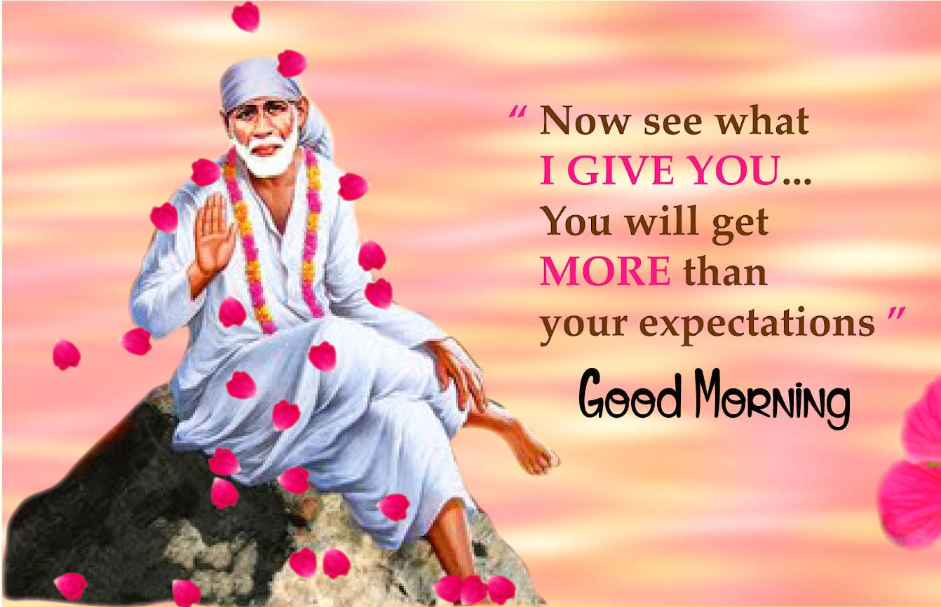 Latest Sai Baba Good Morning Images 2021
