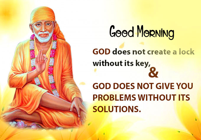 Latest Sai Baba Good Morning Images photo hd 2021